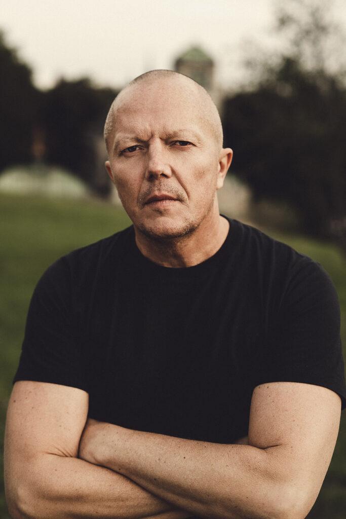Porträtt av fotografen Jonas Norén