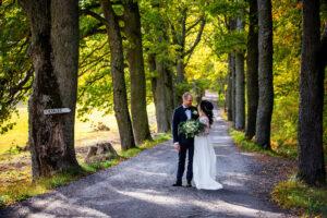 Höstbröllop på Ekeby Loge